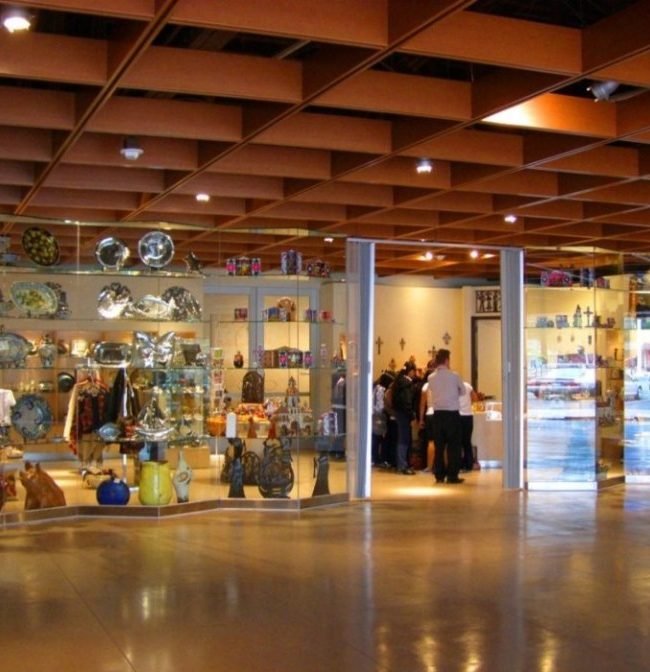 Museum Lobby / Store Entry